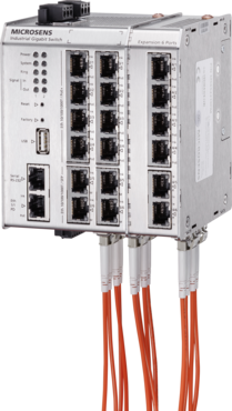 modular extension to 19 Ports