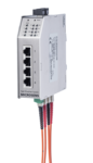 6-Port FE Industrial PL Switch (opt. PoE)