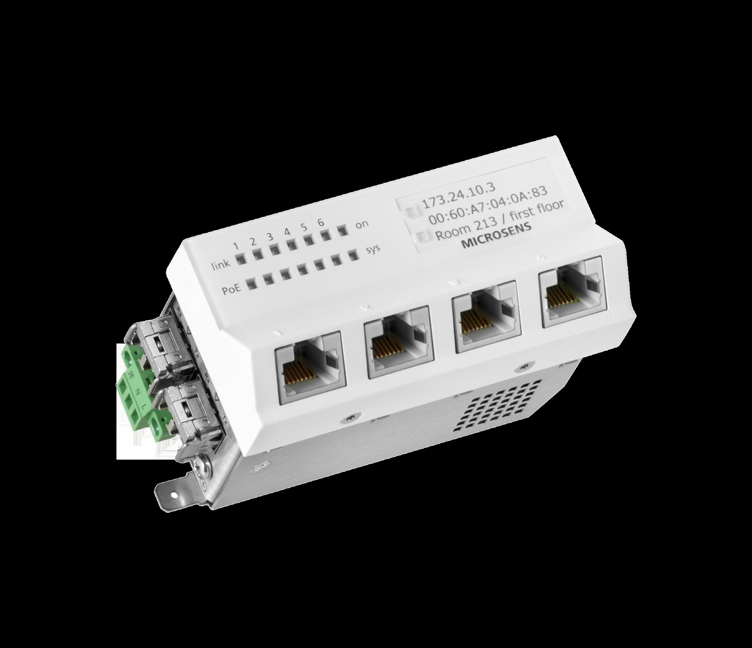 Passive Gigabit PoE Injector 4 port POE-INJ-4-G 10//100//1000M Ethernet LAN RJ45